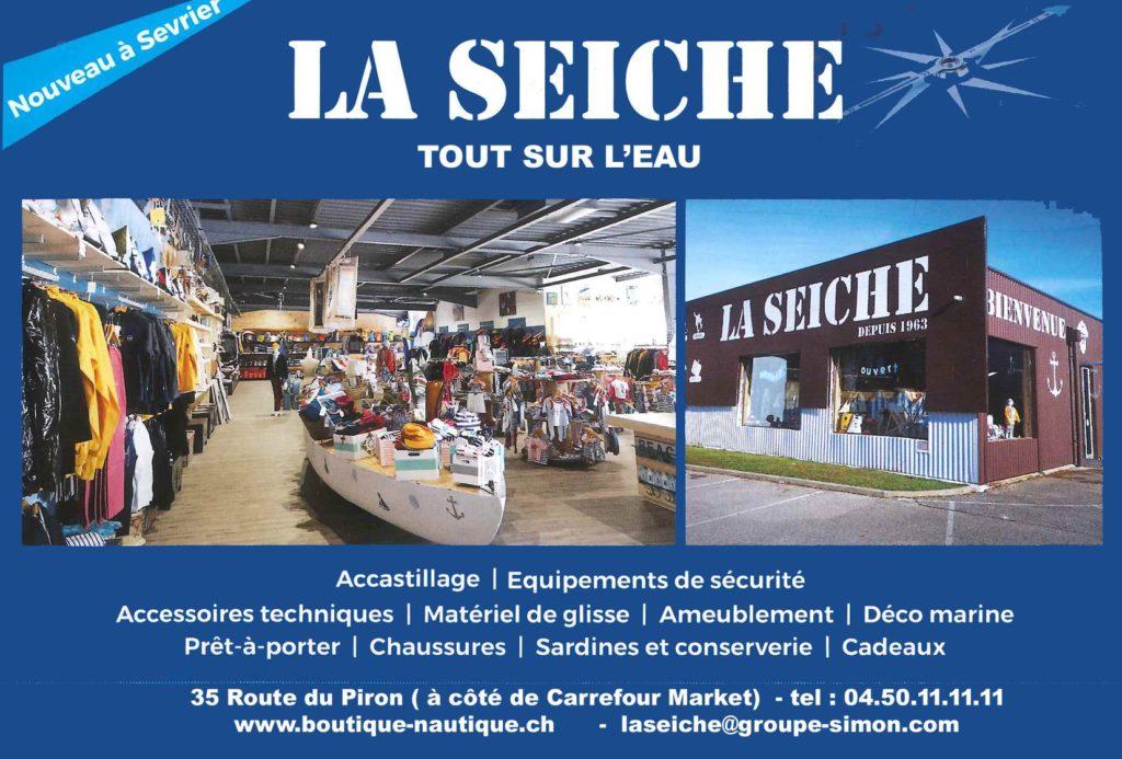 LA SEICHE - boutique nautique - Sevrier