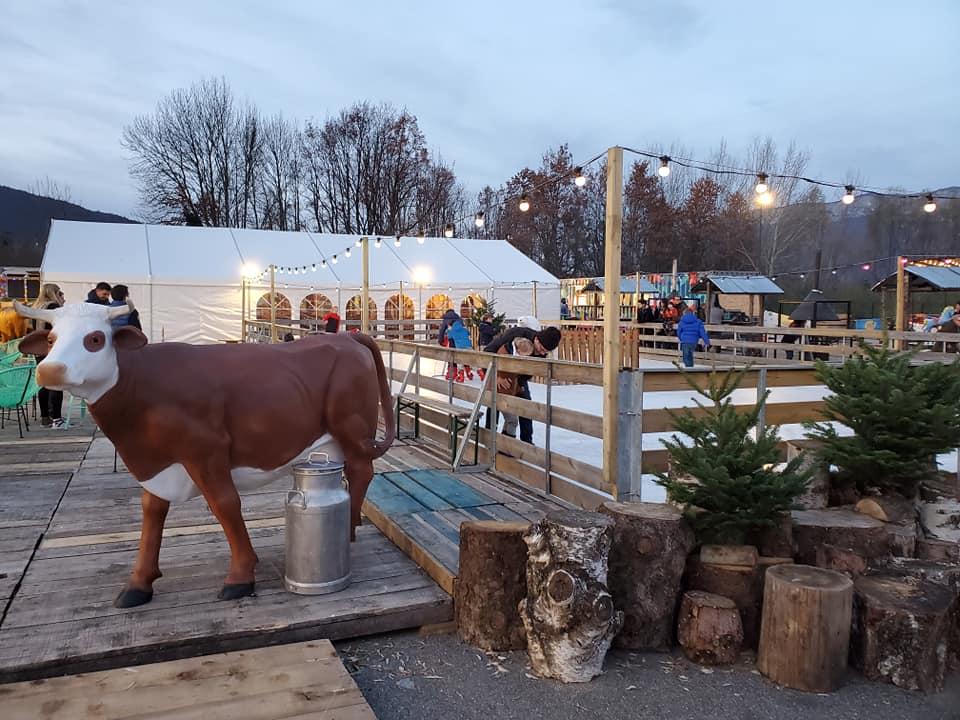 Vache et marché de la Seiche