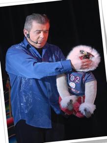 le marché de la seiche, Sevrier François Richard ventriloque