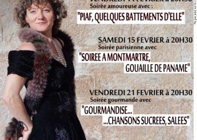 Angelique DESSAINT chante au marché de la Seiche (Annecy, Sevrier)