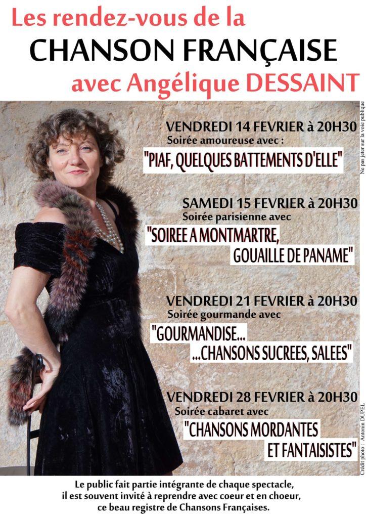 Angelique DESSAINT chante au marché de la Seiche (Annecy, Sevrier).