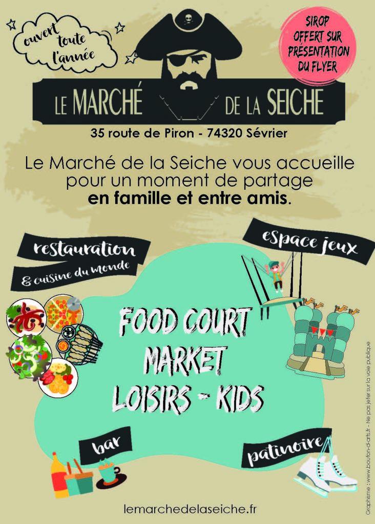 Le Marché de la seiche - enfant, famille et amis - 35 route de Piron, 74320 Sevrier .