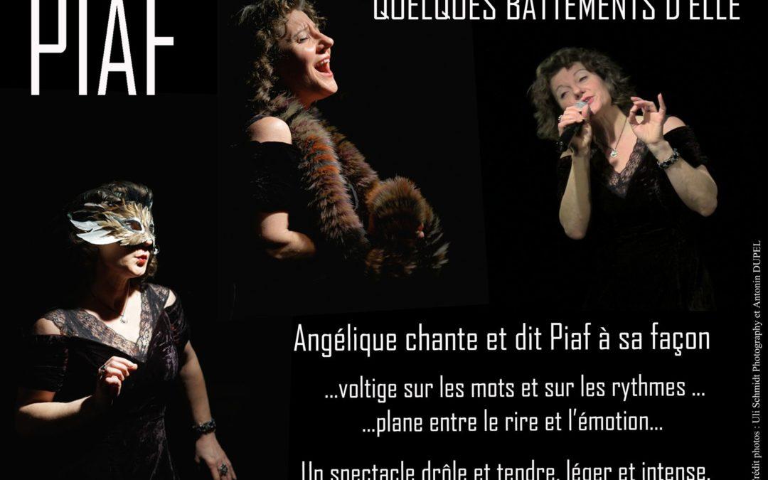 Angelique Dessaint chante Piaf