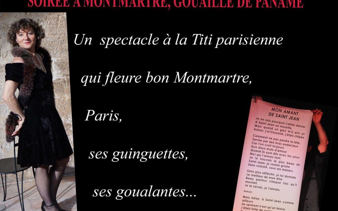 Angelique Dessaint chante Paname