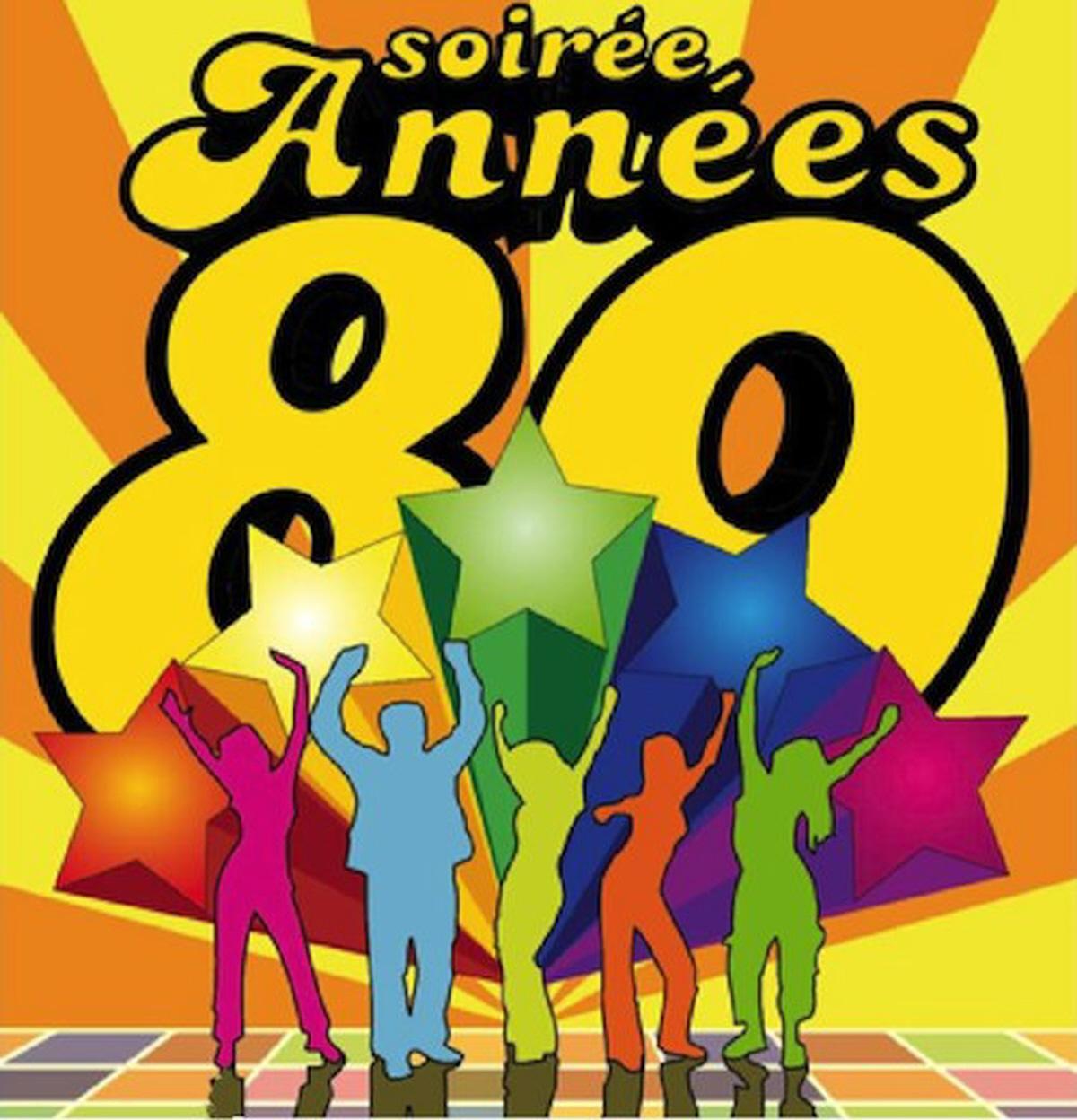 marché de la seiche, Sevrier - soirée année 80 - disco