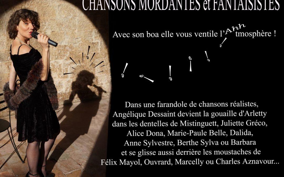 Chansons mordantes et fantaisistes par Angelique Dessaint