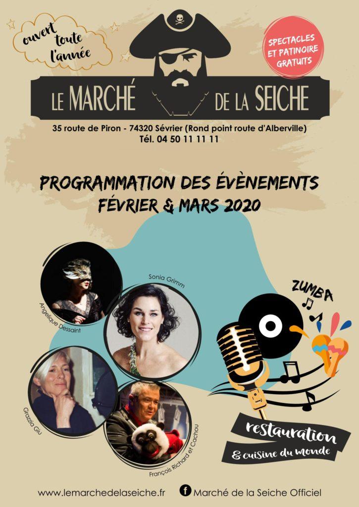 Marché de la seiche - Programmation Février-Mars (p.2)