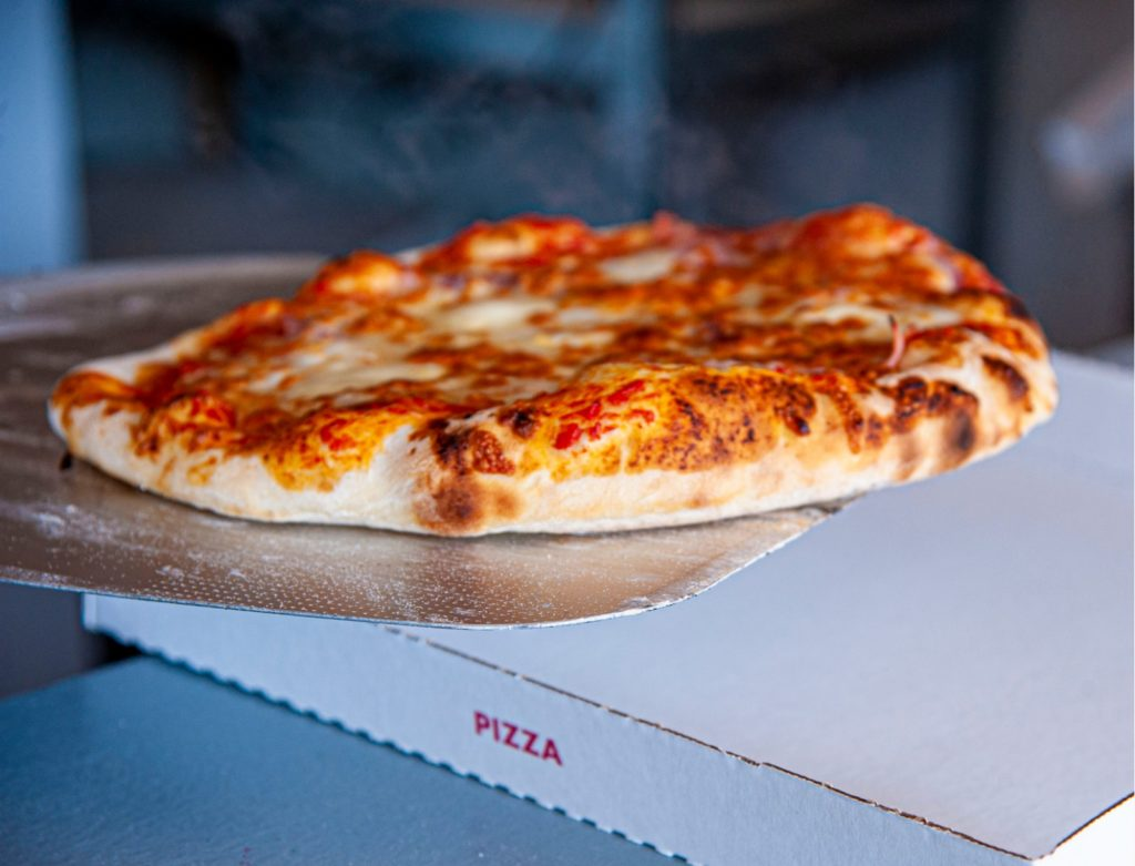 Le marché de la Seiche - pizza à l'Italie gourmande
