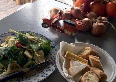 Petit encas par Italie gourmande (marché de la seiche)