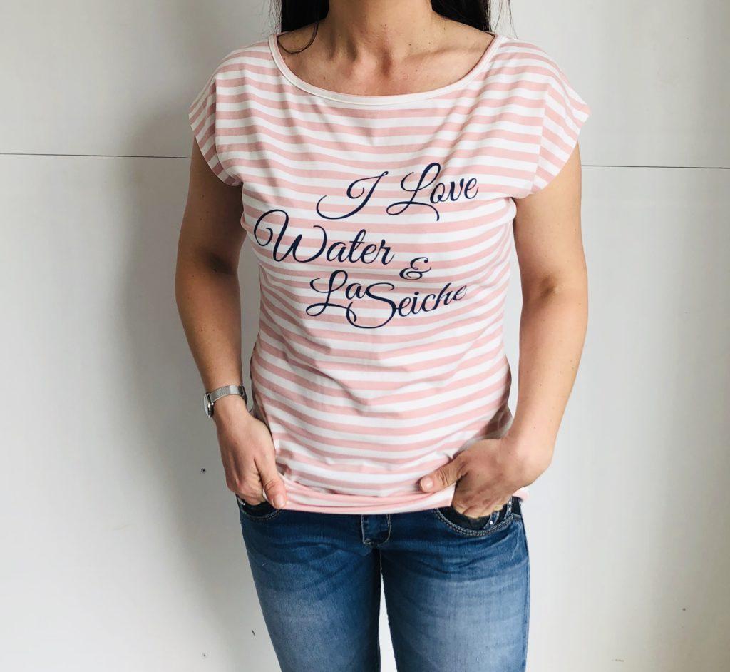 tee shirt griffés la seiche - boutique la Seiche - Sevrier-Annecy