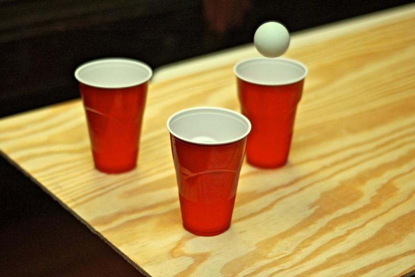 drink pong - marché de la Seiche - Sevrier; Annecy
