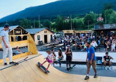 le marché de la Seiche-Sevrier-Annecy été 2019 -skatepark