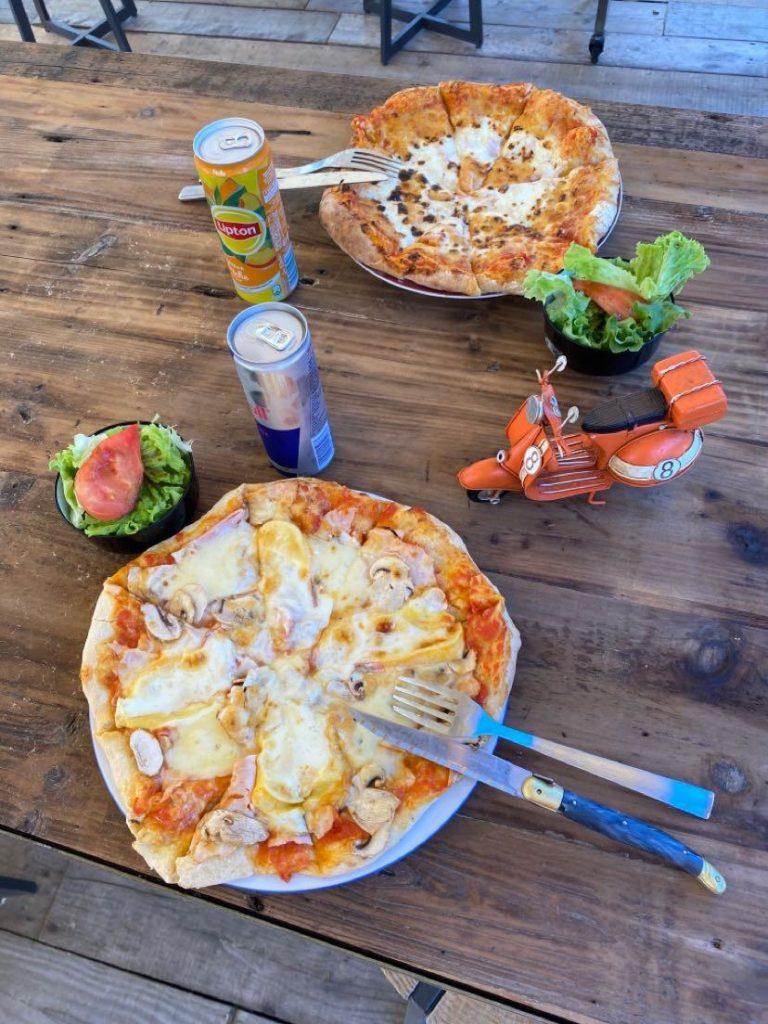pizza par l'Italie gourmande marché de la Seiche - Annecy