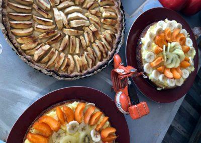 Desserts gourmands by l'Italie gourmande marché de la Seiche - Annecy - Sevrier