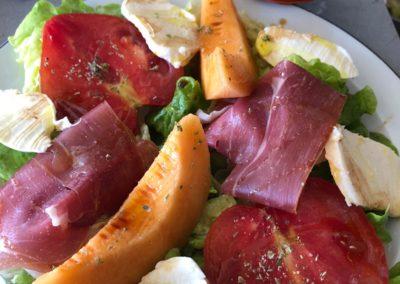 Salade fraicheur by l'Italie gourmande marché de la Seiche - Annecy