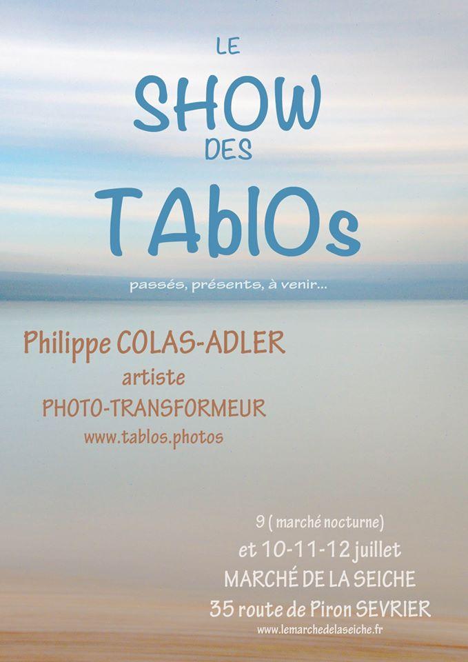 TAblOs - Philippe Colas-Adler au marché de la Seiche