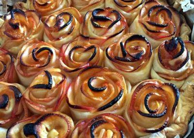 Tarte aux pommes faite avec amour par l'Italie Gourmande - marché de la Seiche - Annecy