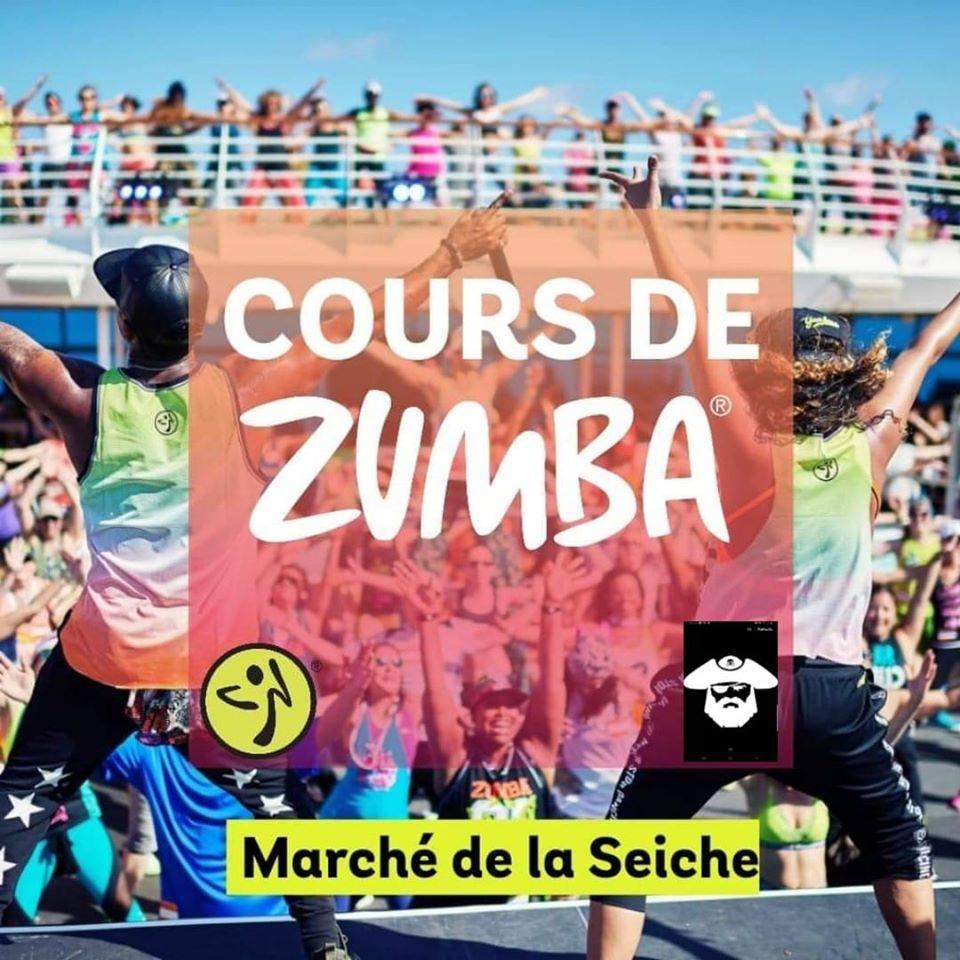 ZUMBA Audrey Annecy au Marché de la Seiche - summer 2020