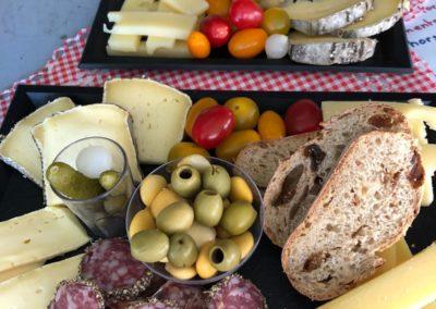 Plateau apéro tapas by l'Amuse gueule - marché de la Seiche - Annecy - Sevrier