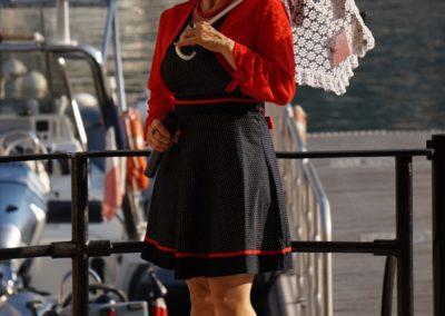 Angélique Dessaint anime la Seiche en chansons - Sevrier - Annecy - marché de la Seiche