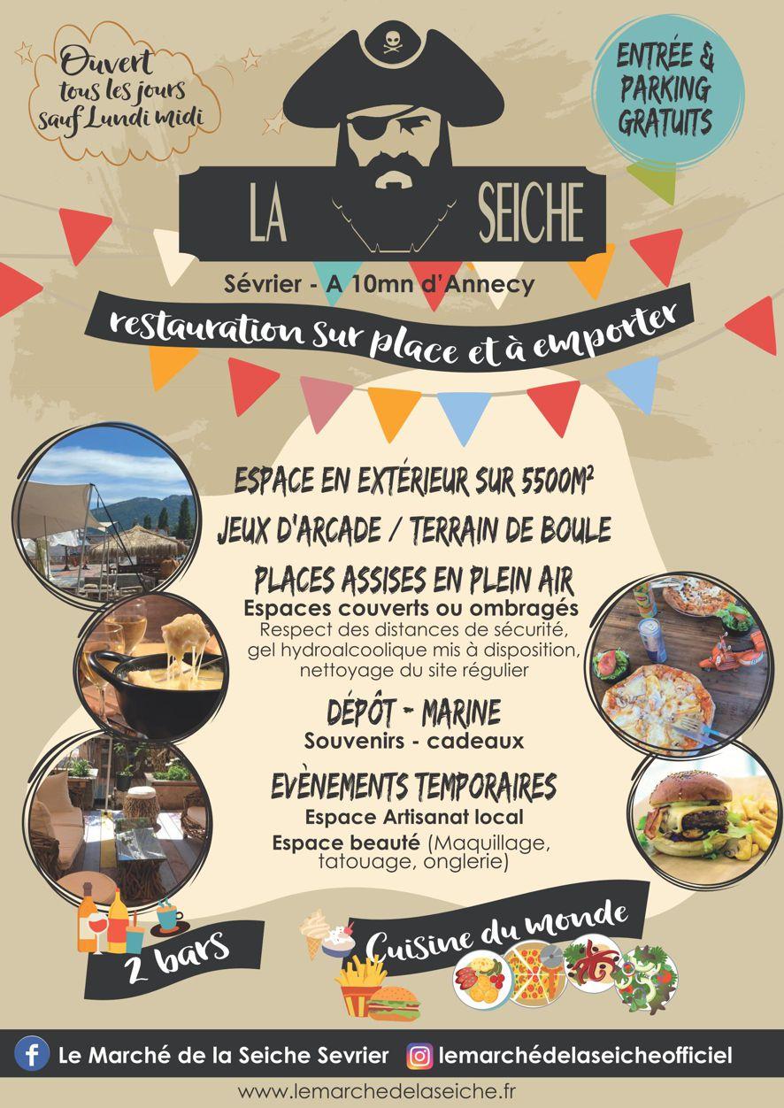 Flyer Le Marché de la Seiche oct 2020 La seiche recto