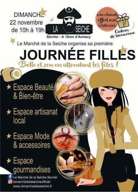 Journée Filles - 22 novembre - marché de la Seiche - Sévrier