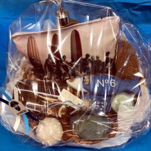 Cadeaux noël, Paniers garnis à thème marin - déco marine autour du bain - Sevrier, Annecy