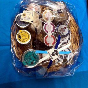 Cadeaux noël, Paniers garnis à thème marin - dégustation gourmande - Sevrier, Annecy