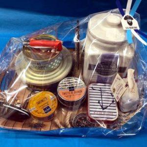 Cadeaux noël, Paniers garnis à thème marin - plateau dégustation - Sevrier, Annecy