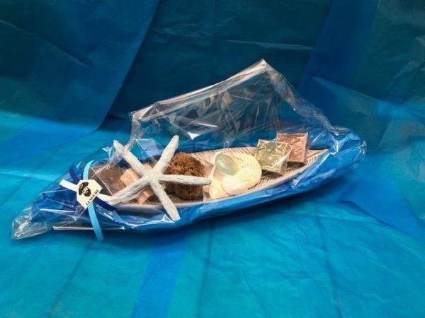 Cadeaux noël, Paniers garnis à thème marin - pour le bain - Sevrier, Annecy