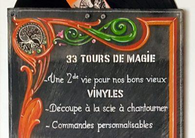 33 tours de magie au marché de noël - La Seiche, Sévrier - lac d'Annecy