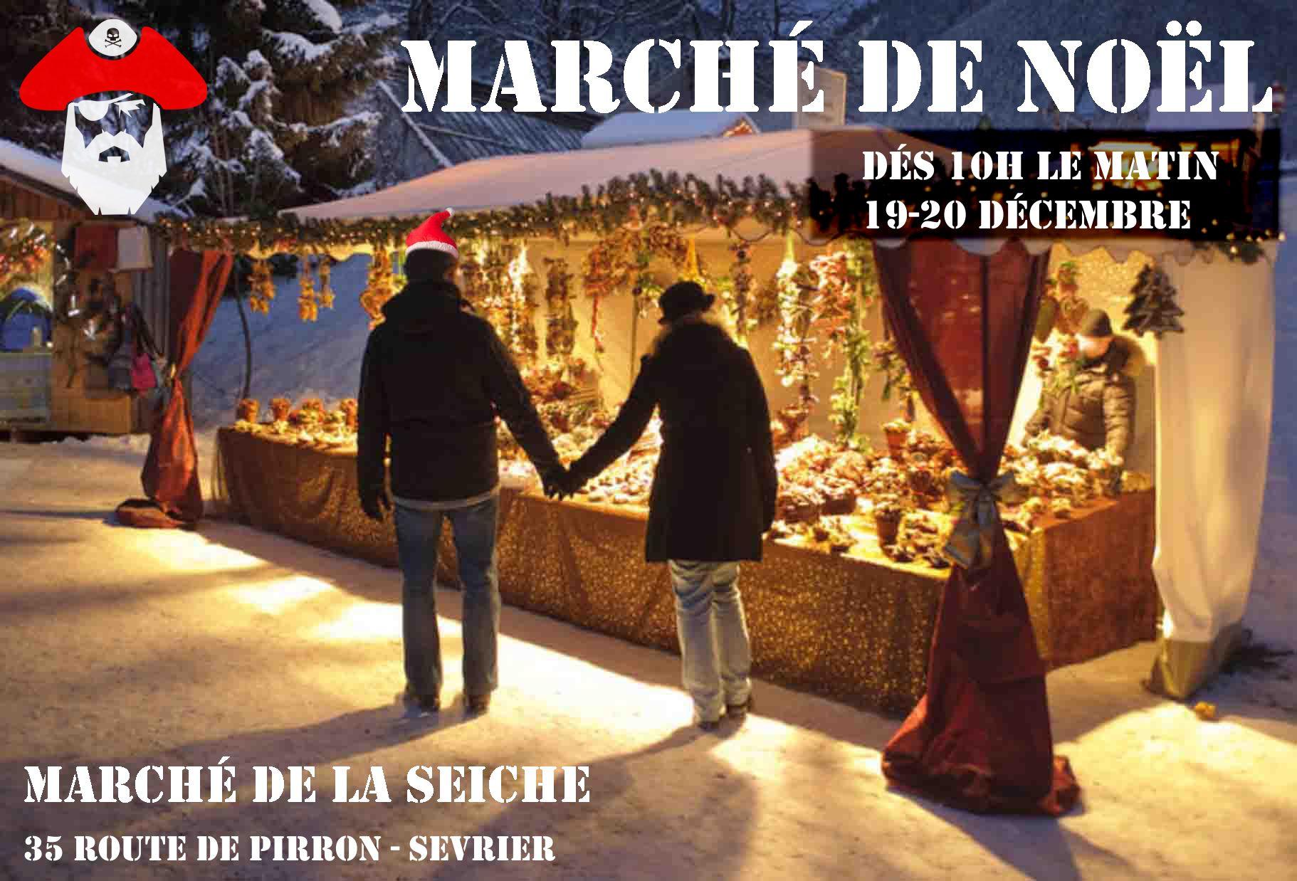 Marché de noël - La seiche - Sévrier Annecy -19 20 décembre