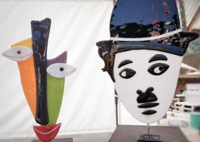 Art et Artisanat Au marché nocturne des créateurs, mai 2021 à La seiche, Sevrier, Haute-Savoie