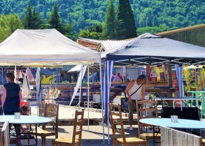 Artisanat au marché nocturne des créateurs,La seiche, Sevrier, lac d'Annecy