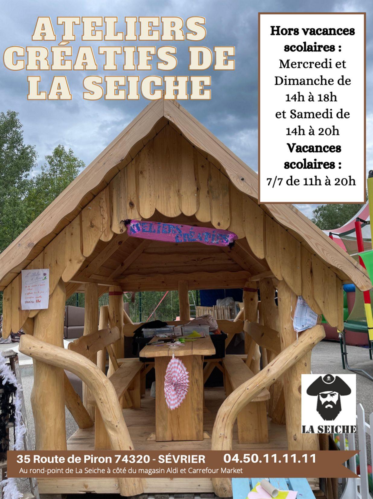 Atelier créatif d'Aurore. Marché de la Seiche - Sevrier - Lac d'Annecy