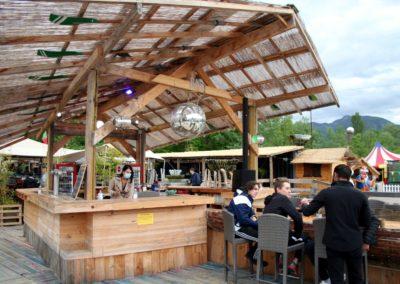 Bar central. Marché de La Seiche, Sevrier