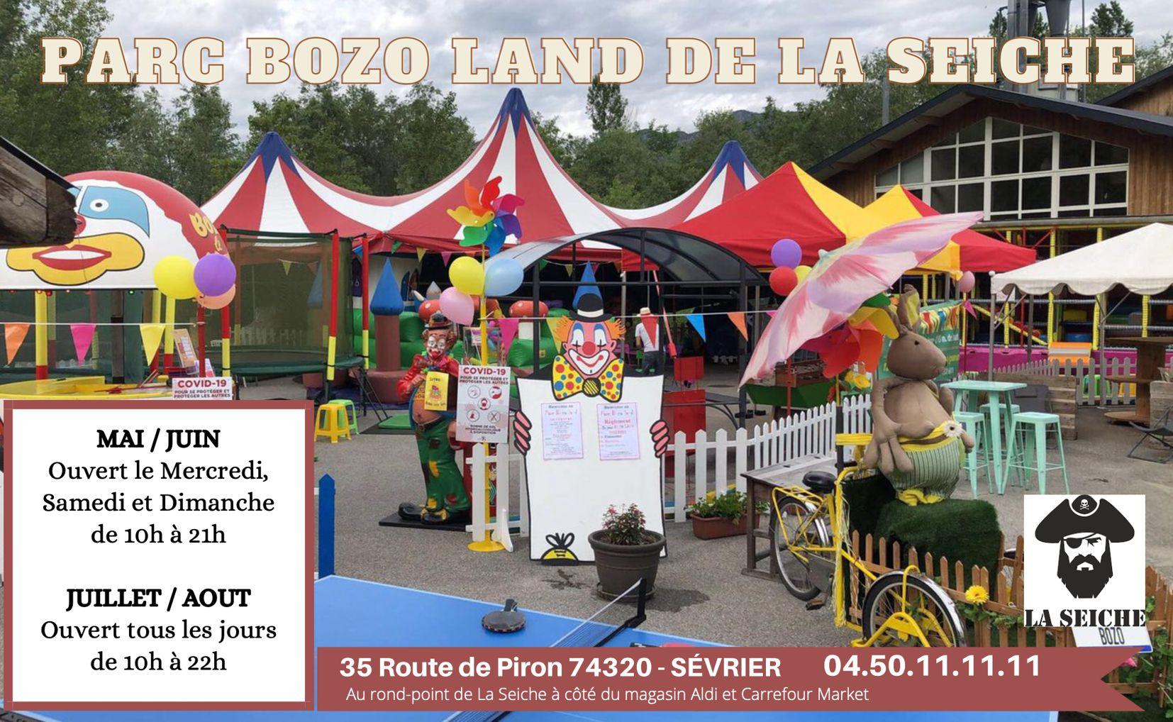 Bozo land - animations enfants. Marché de la Seiche. Sevrier - Lac d'Annecy