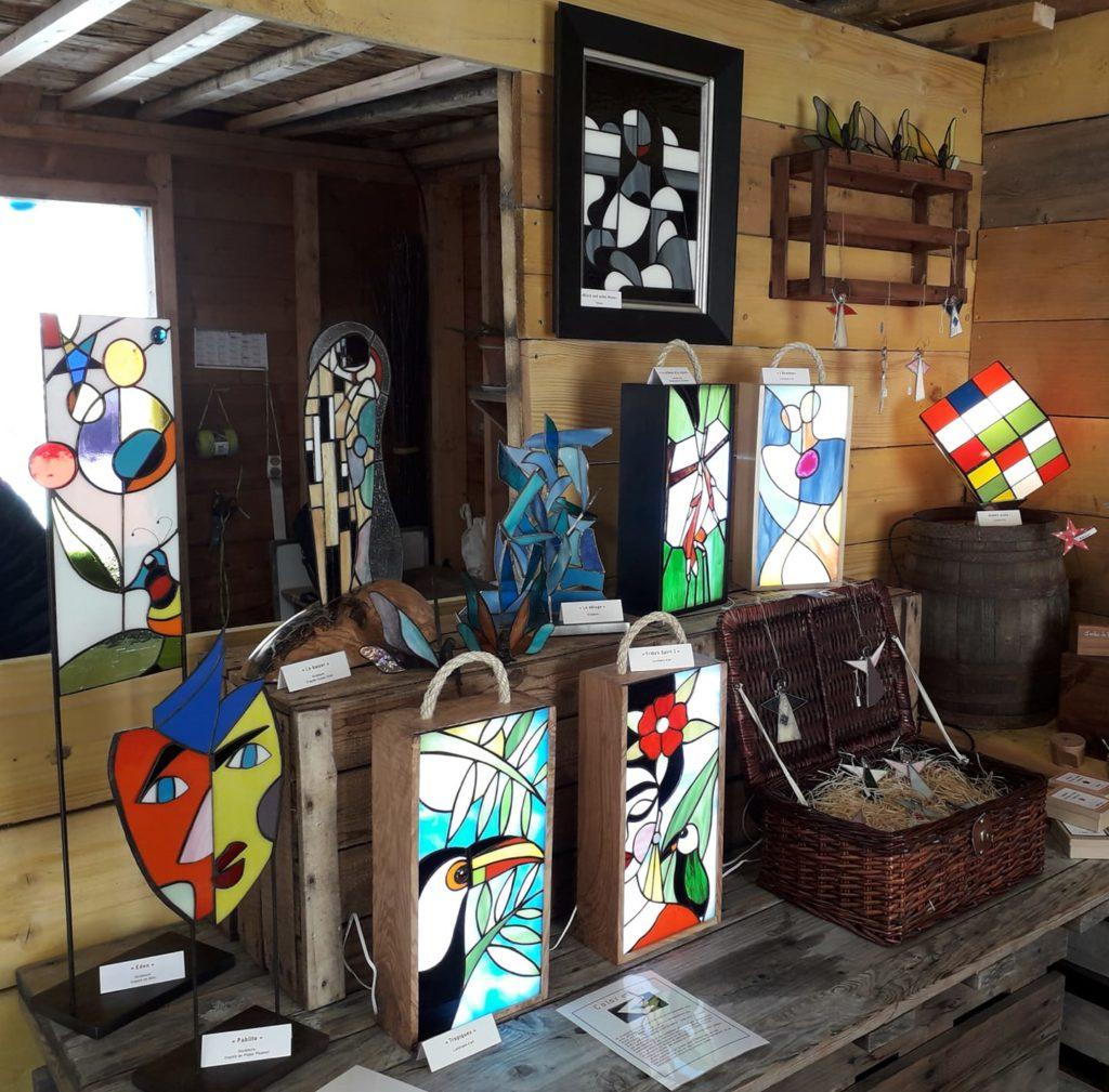 Color et lux. Atelier des créateurs - inside. marché de la Seiche - Sevrier