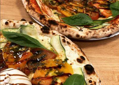 Frescezza Pizza par Piccolina Sicilia, marché de la Seiche à Sevrier