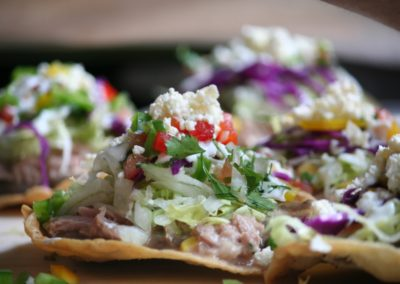 La Tostada. stand-restaurant Viva Mexico - Marché de la Seiche, Lac Annecy, Sevrier