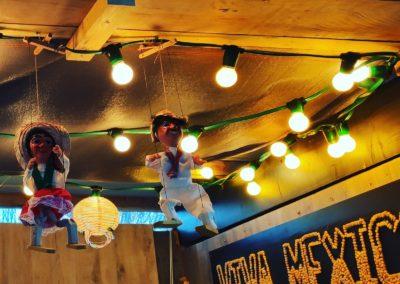 stand-restaurant Viva Mexico - Taco ,burritos , ceviche. Marché de la Seiche, Lac Annecy, Sevrier