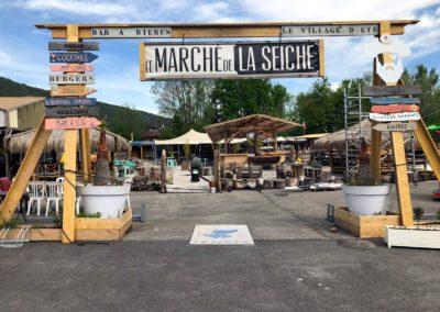 le marché de la seiche - Sevrier - Lac d'Annecy