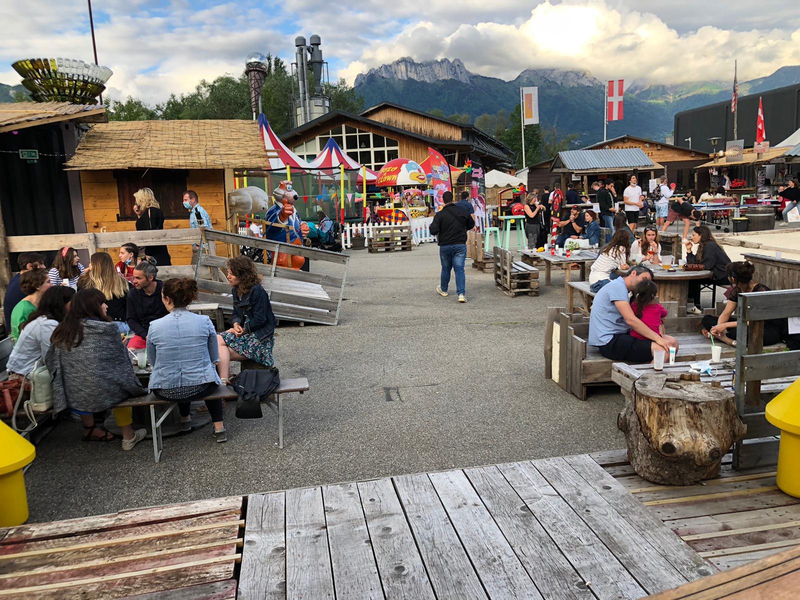 Loisirs à la Seiche - Sevrier - restaurant - bar - terrasse - shopping - Lac d'Annecy