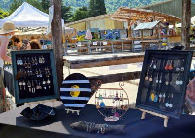 Artisanat au marché nocturne des créateurs, juin 2021 à La Seiche, Sevrier (74)