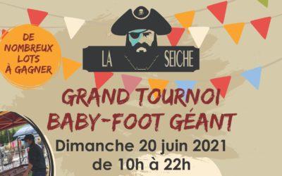 Grand tournoi de baby-foot géant