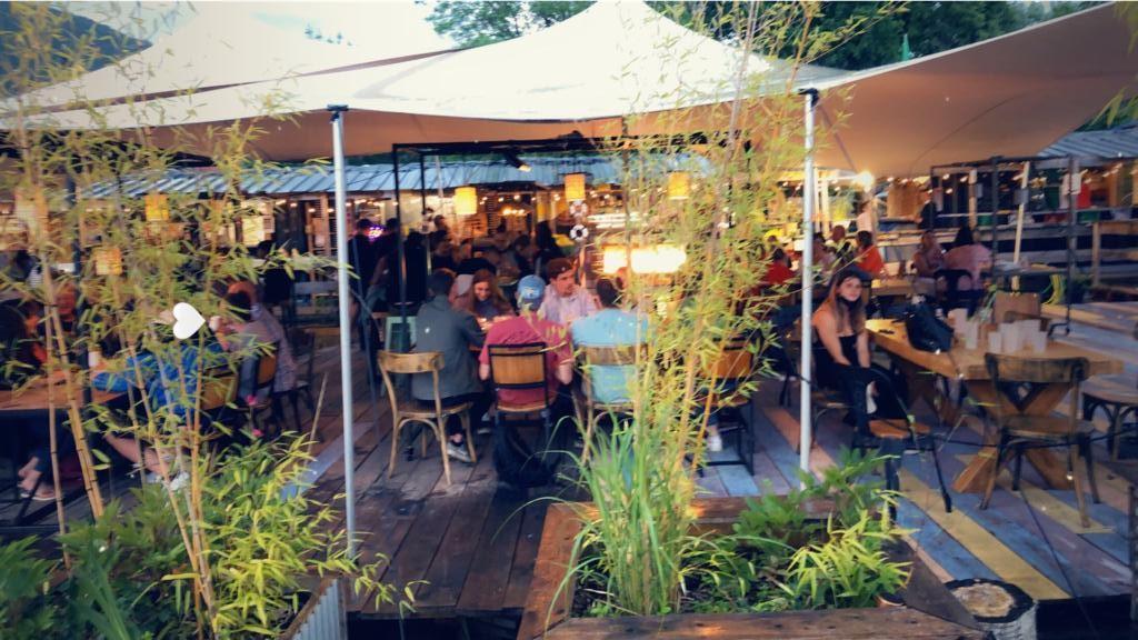 La Seiche à Sevrier - terrasse du restaurant