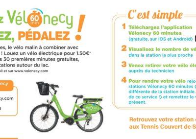 Mobilité douce à La Seiche - Vélonecy
