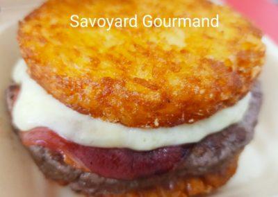 Savoyard Gourmand, Roasty viande de bœuf et raclette au lait cru des Fermes de Serraval
