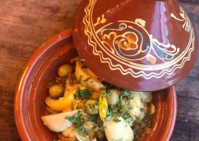 Tajine au poulet, Étoile d'Agadir. La Seiche, Sevrier
