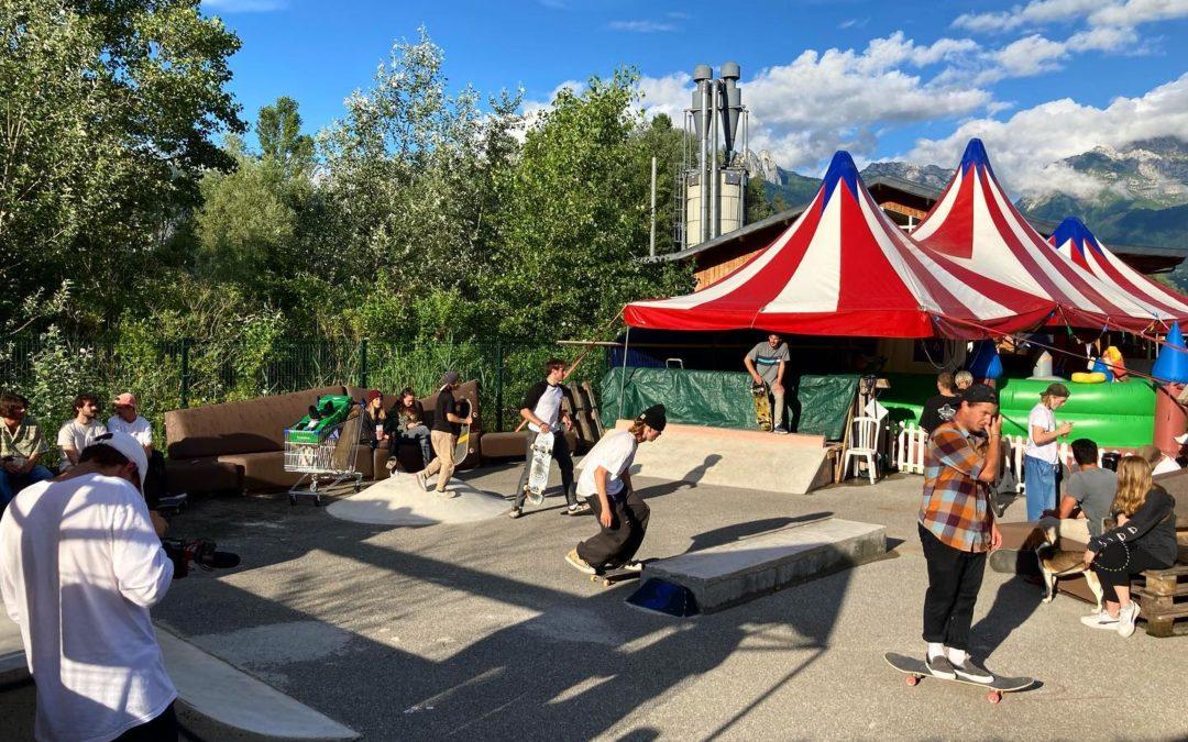 Le Skatepark de la Seiche